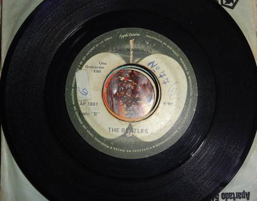 Disco - The Beatles - Hey Jude - Lady Madonna - bs