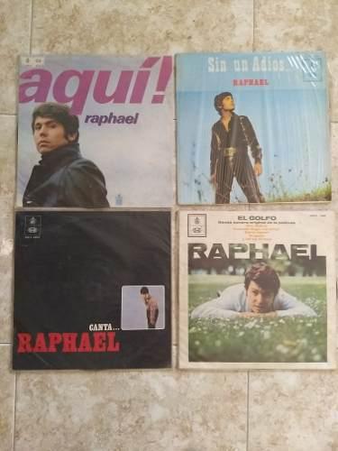 Discos De Raphael En Acetato