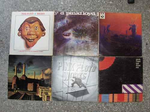 Discos De Vinil De Coleccion Pink Floyd, Police, Rolling Sto