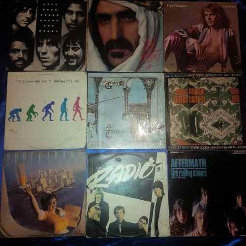 Lp Vinil Acetato Rock Jazz Progresivo De Los 70 Y 80s