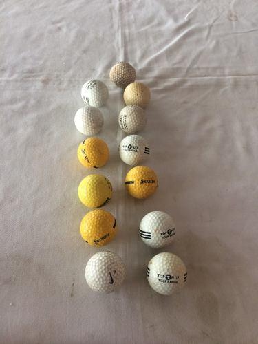 Vendo 13 Bolas De Golf Usadas En Buen Estado