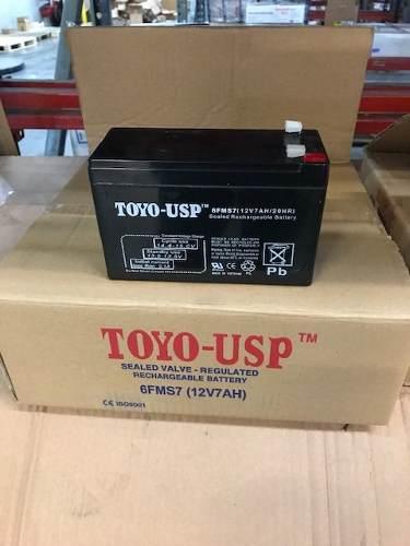 Bateria O Pila 12v 7 Amp Nuevas Recargables