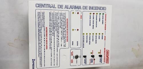Central Alarma Incendios 2 Zonas Vencontrol Xpress Serie