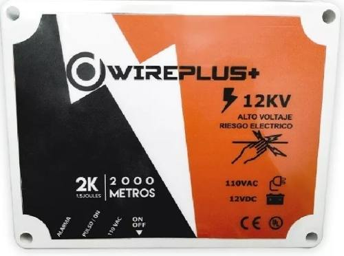 Central Cerco Eléctrico  Metros Energizador Wireplus