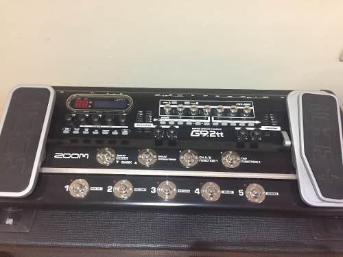 Consola De Efectos De Guitarra Pedalera Marca Zoom G9.2tt