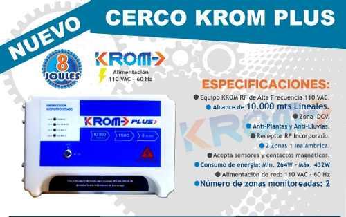 Energizador Cerco Krom De Alta Frecuencia mts 220$