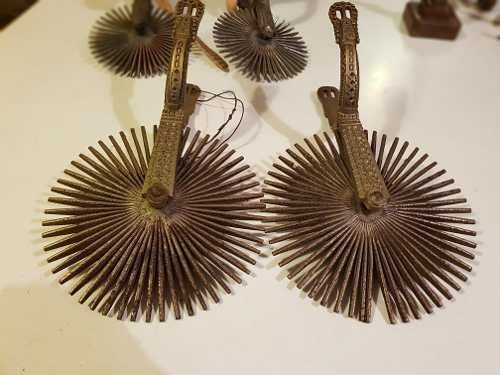 Espuelas Para Caballos De Bronce Chilenas