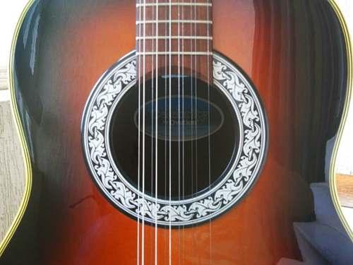 Guitarra Electro Acústica 12 Cuerdas Ovation Celebrity Cc65