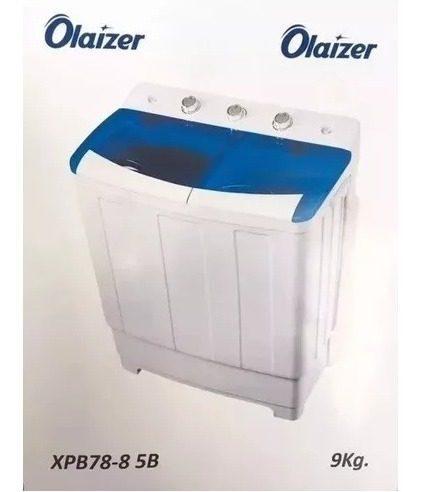 Lavadora Olaizer Semi Automatica Doble Tina 8kg Oferta