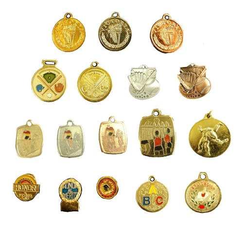Medallas Deportivas Y Honor Al Merito Venta Al Mayor (1$)