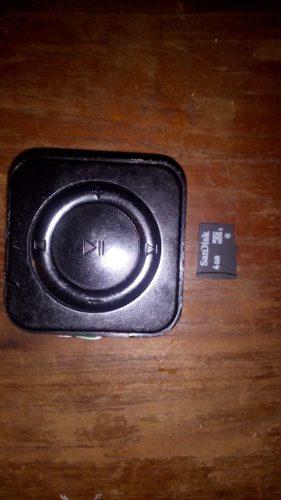 Mp3 Shuffle Con Bateria Extra Con Tarjeta De Memoria 4 Gb