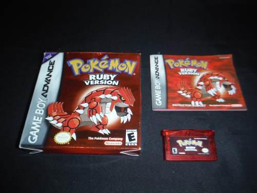 Pokemon Ruby Gba -game Boy Advance