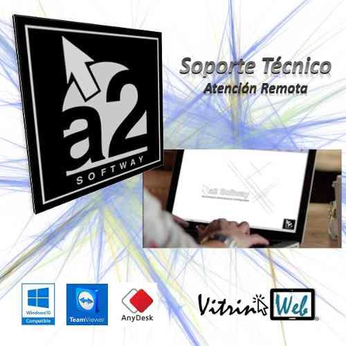 Servicio Técnico Soporte Remoto Sistemas A2 Softway