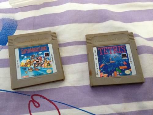 Super Mario Land Y Tetris Gameboy