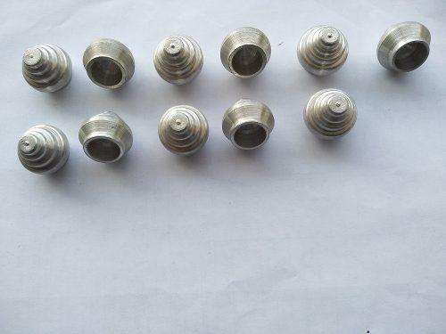 Tope Para Cortinero De Aluminio De  Unidades