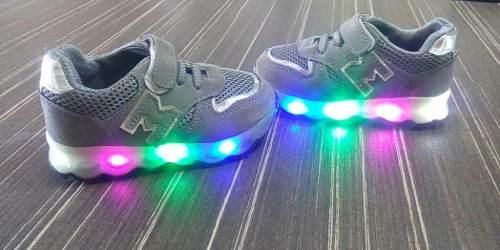 Zapatos Para Niños Con Luces Led Bebe