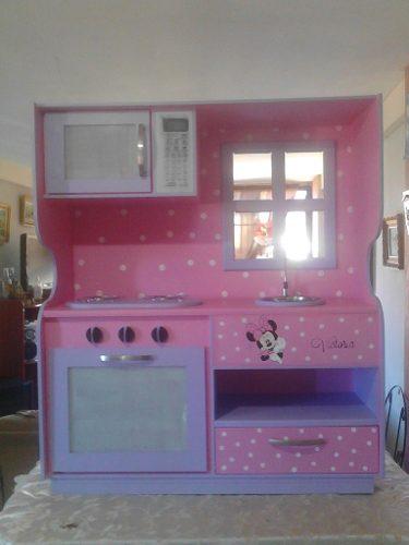 Casa De Muñecas Cocina Elaboradas En Mdf