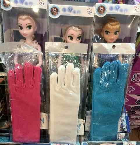 Guantes Para Niñas De Princesa