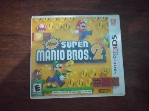 Juego New Super Mario Bros 2 Para Nintendo 3ds