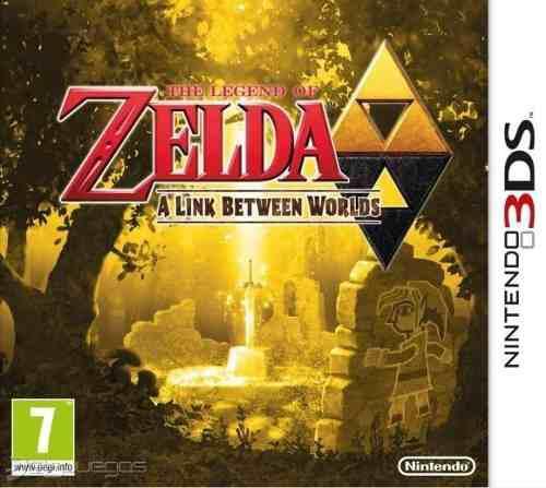 Legend Of Zelda A Link Between Worlds Para Nintendo 3ds/2ds