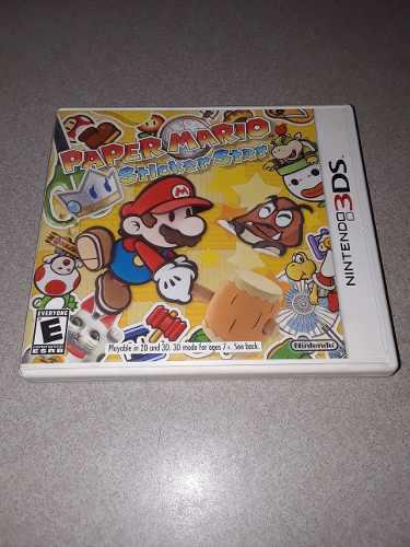 Paper Mario Sticker Star / Nintendo 3ds