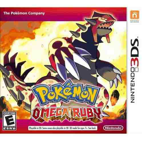 Pokemon Omega Ruby Para Nintendo 3ds/2ds
