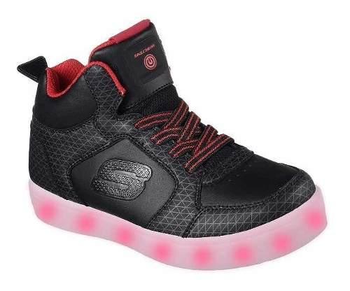 Zapatos Con Luces Sckechers Energy Lights Talla 37,5