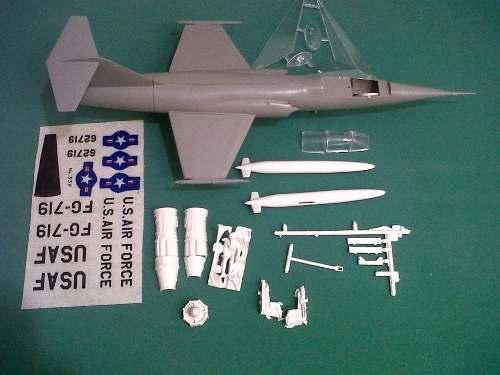 Avión F-104 Lindberg