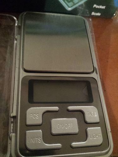 Balanza Digital Gramera Peso Pocket Scale 500g Para Joyería