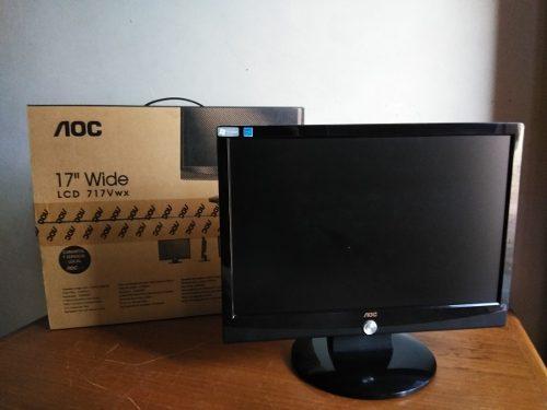Monitor Lcd De 17 Marca: Aoc (como Nuevo)