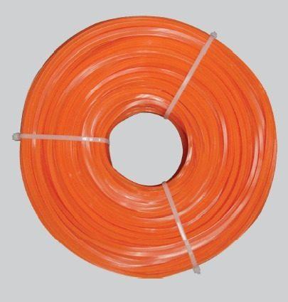Nylon Para Desmalezadora Cuadrado 3.3mm 200 Mts Naranja