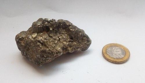 Pirita De Hierro Prosperidad Sanación Cuarzo Cristal