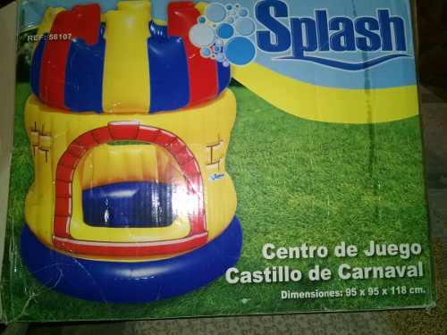 Piscina En Forma De Castillo Inflablen Para Bebe