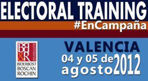Primer ElectoralTraining de Venezuela en Valencia | 4y5 AGO