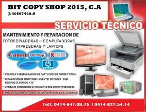 Reparacion de impresoras y fotocopiadoras