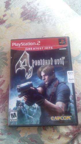 Resident Evil 4 Ps2