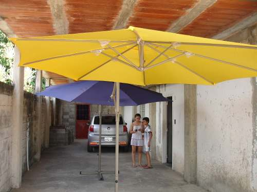 Sombrilla De Lujo Para Jardín Y Piscinas
