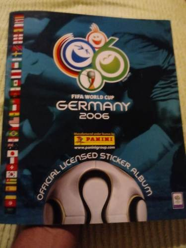Album Del Mundial De Futbol  Lleno