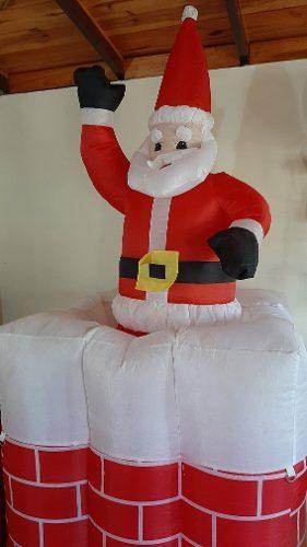 Inflable Navidad Santa Claus. Papa Noel