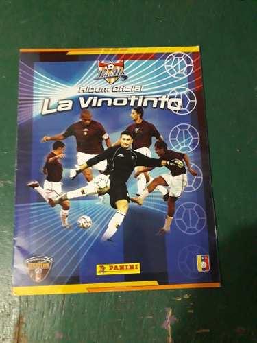 Álbum Panini De La Vinotinto Lleno