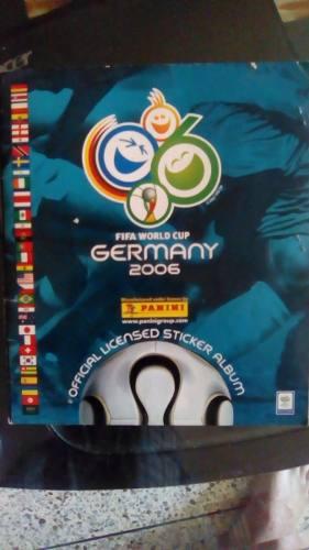 Álbum Panini Mundial De Fútbol Alemania  Lleno....
