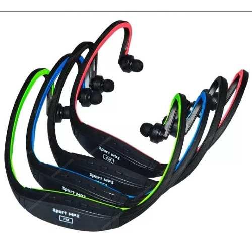 Audifonos Mp3 Auriculares Memoria Micro Sd Correr Chacao