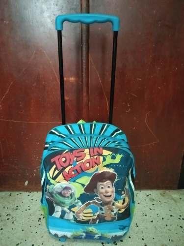 Bolso Escolar De Toy Story Tipo Maleta - Bolso Con Ruedas