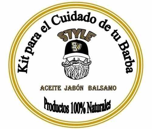 Kit Para El Cuidado De La Barba. Aceite. Bálsamo. Barra
