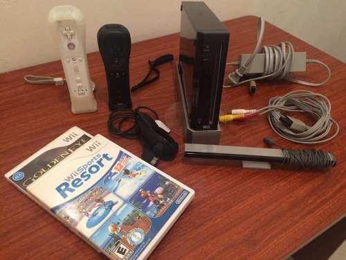 Nintendo Wii 2 Control 1 Nunchuk 33 Juegos 40negociable