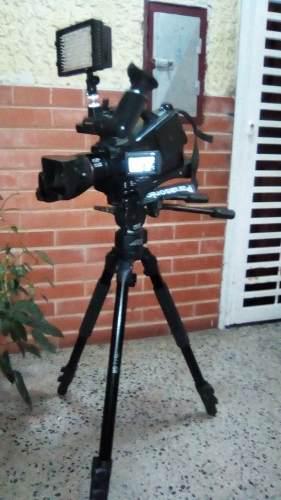 Video Camara Panasonic Ag-ac7 Tarjeta Sd 1080x920 Hd + Acce.