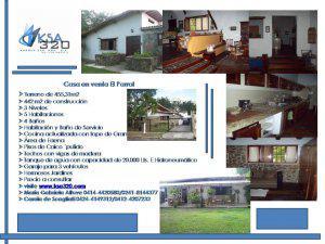 casa en venta El Parral