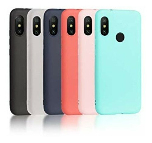 Forro Silicon Xiaomi Mi A2 Lite Nuevos