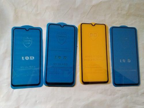 Protector De Vidrio 10d Samsung A20 A30 A40 A50 A70 A80