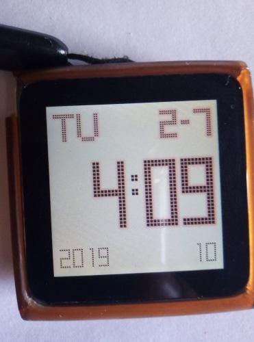 iPod Nano 6ta Generación Usado 30 Verdes